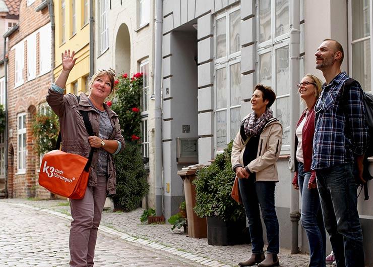 Stadtführung Höfe und Gänge in Lübeck