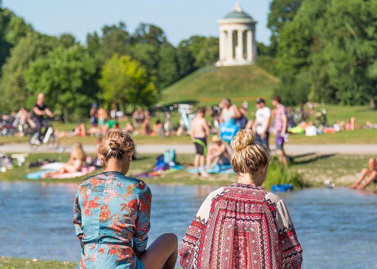 Englischer Garten in Schwabing