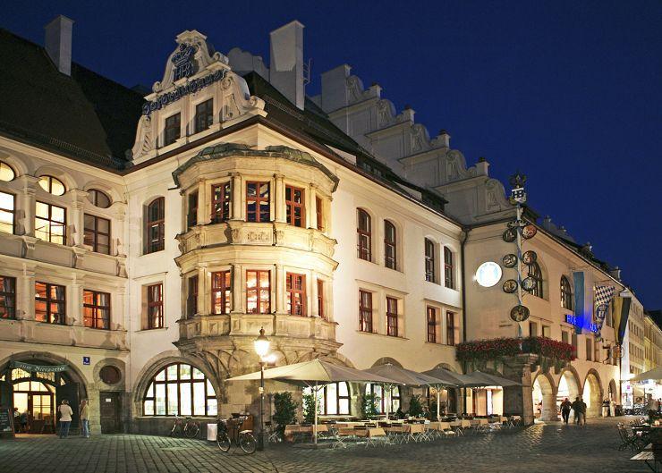 Hofbräuhaus in der Bräuhausstraße