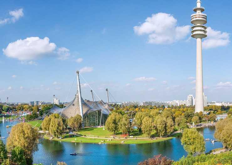 Sightseeing-Stopp Olympiapark