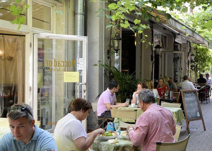 Italienisch Essen im Restaurant Mocca d'or in Münster