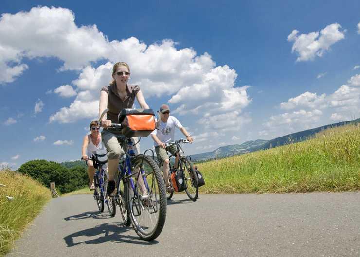 Leihräder auf Tour im Münsterland