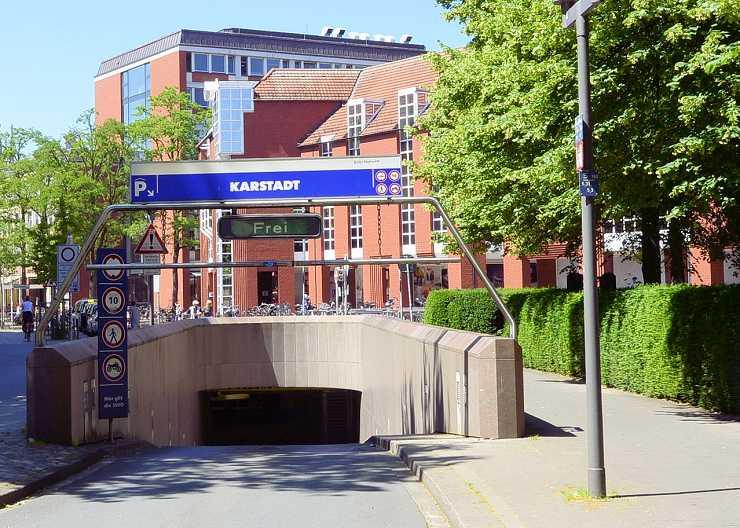 Karstadt-Parkhaus in Münster
