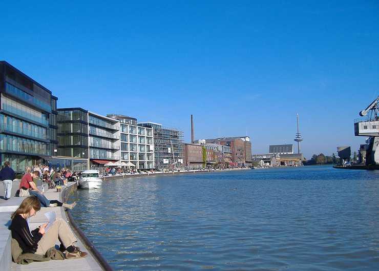 Hafenführung in Münster