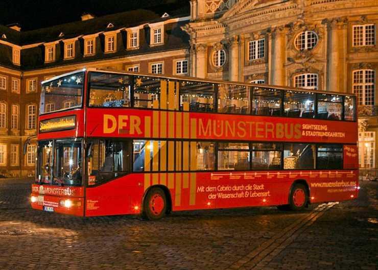Stadtrundfahrt mit dem Münsterbus