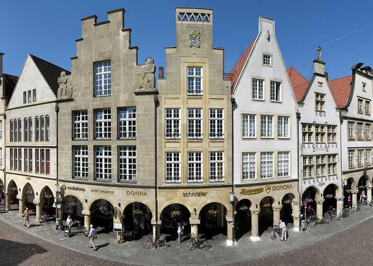 Fassaden am Prinzipalmarkt