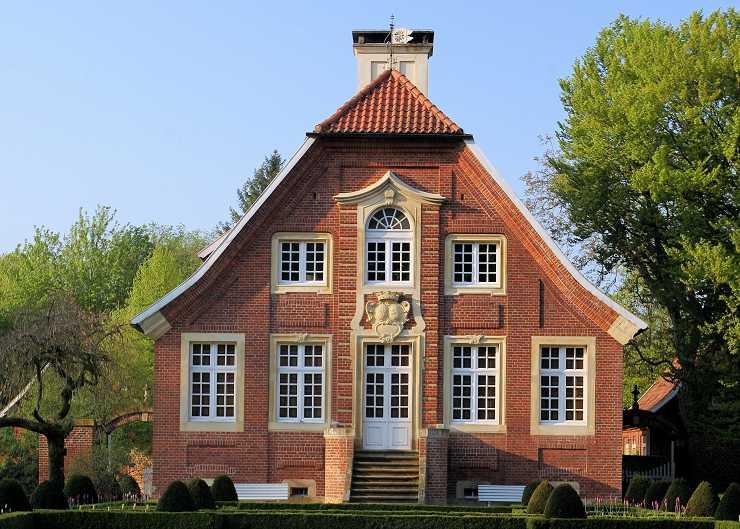 Haus Rüschhaus im Münsterland
