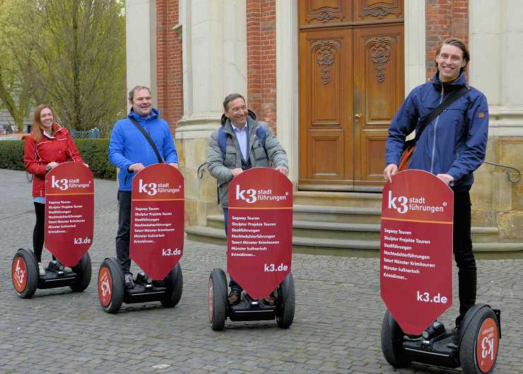 Segway Sightseeing Tour durch Münster