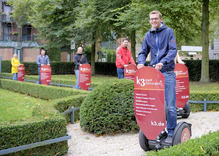 Segway Verleih in Münster