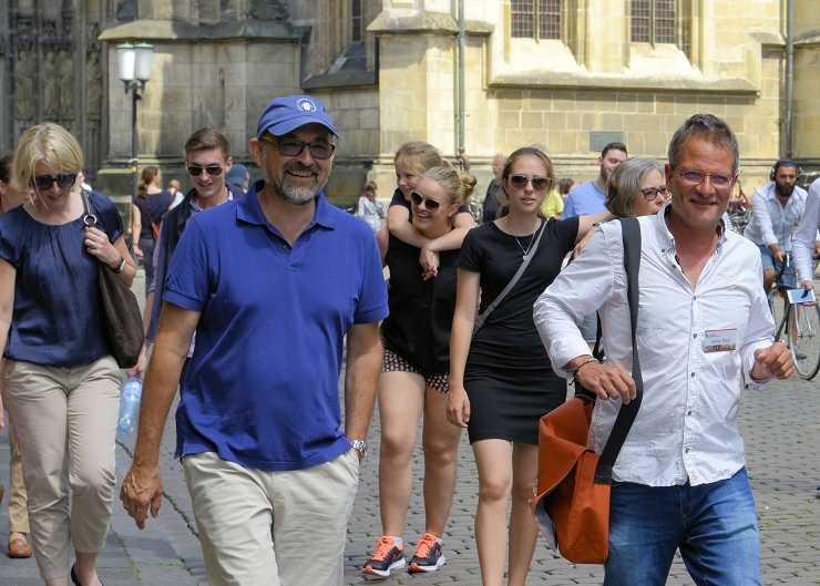 Erkunden Sie Münster bequem zu Fuß.