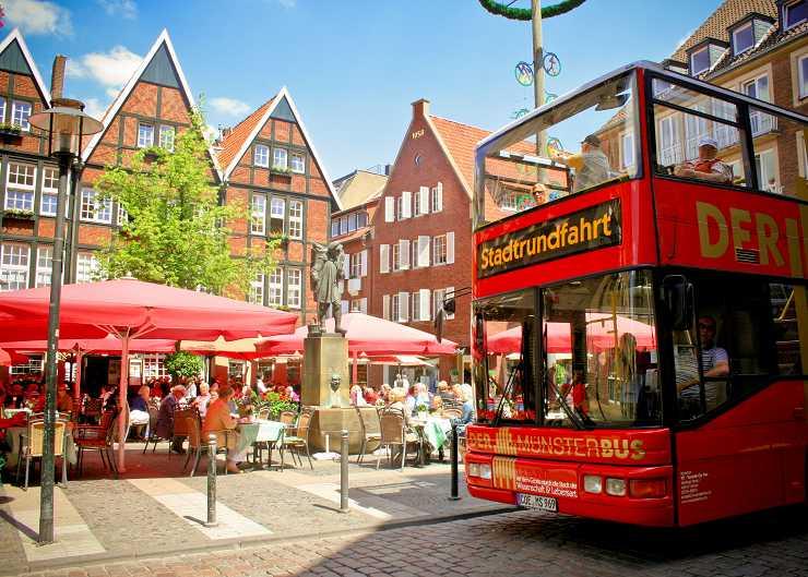 Stadtrundfahrt durch Münster