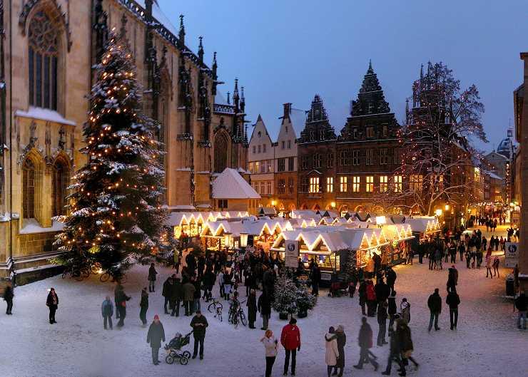 Weihnachstmarkt in Münster