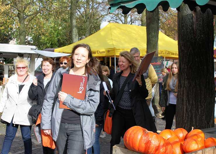 Führung über den Wochenmarkt in Münster