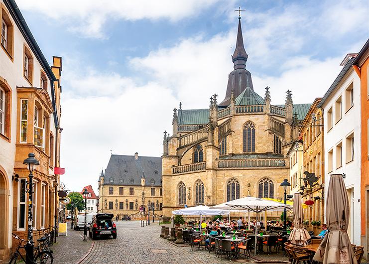 Marienkirche und das historische