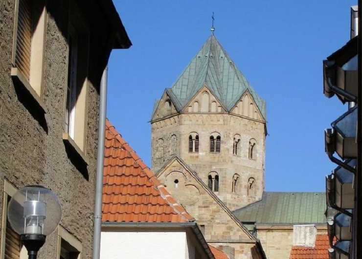 Blick auf den Osnabrücker Dom