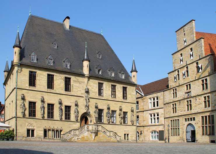 Rathaus und Stadtwaage Osnabrück