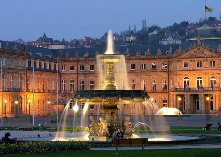 Neues Schloss in Stuttgart