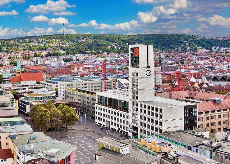 Rathaus in Stuttgart