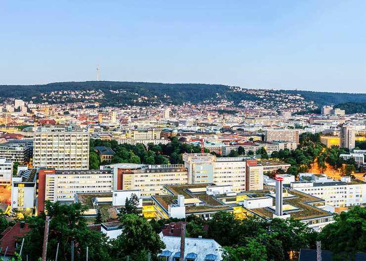 Stadtpanorama von Stuttgart