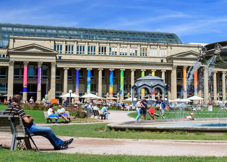 Königsbau am Stuttgarter Schlossplatz