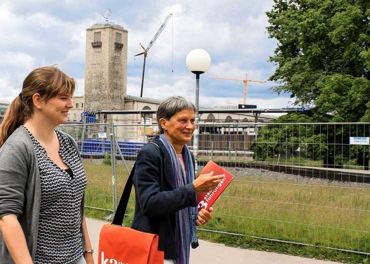 Stuttgart 21 - Führung