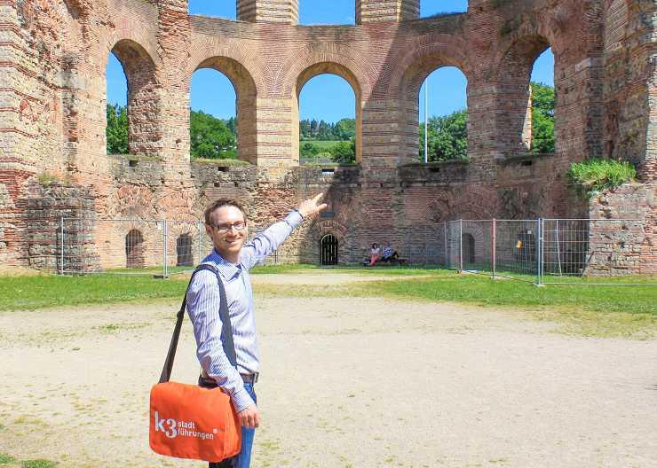 Job als Stadtführer in Trier