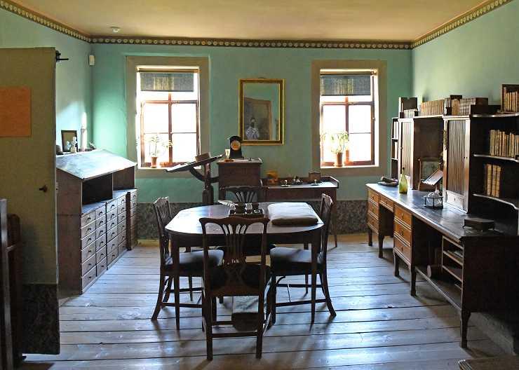 Goethes Arbeitszimmer im Nationalmuseum