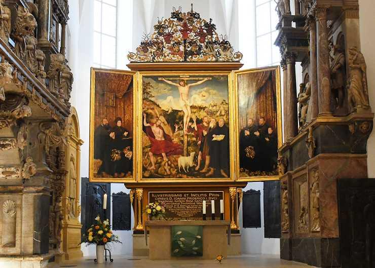 Cranach Altar in der Herderkirche