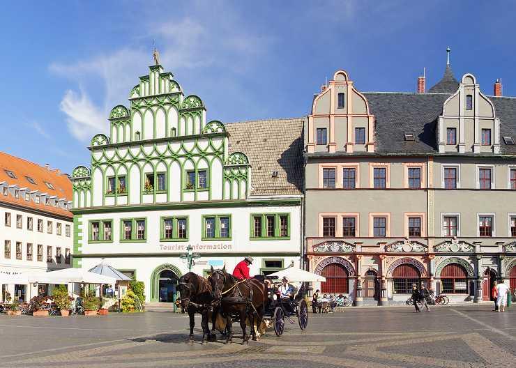 Touristinfomation und Cranachhaus in Weimar