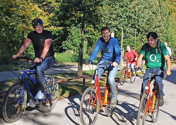 Fahrradtour durch Weimar