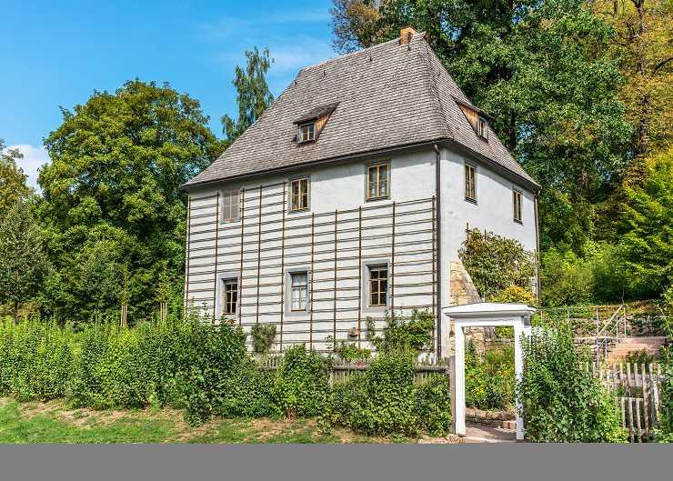 Ilmpark mit Goethes Gartenhaus