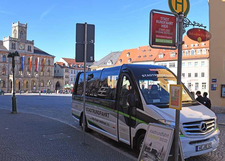 Stadtrundfahrt durch Weimar